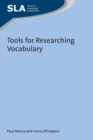 Tools for Researching Vocabulary - Book
