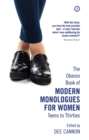 The Oberon Book of Modern Monologues for Women, Volume 3 : Teens to Thirties - Book
