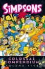 Simpsons Comics - Colossal Compendium 5 : Volume five - Book