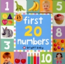 First 20 Numbers : Lift The Flap Tab Books - Book