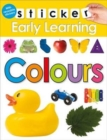 Colours : Sticker Early learning - Book