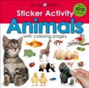 Sticker Activity Animals - Book