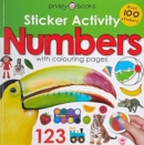 Sticker Activity Numbers - Book