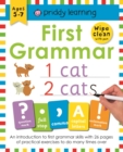 First Grammar : Wipe Clean Workbooks - Book