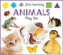 First Learning Animals Play Set - Book