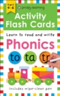 Activity Flash Cards Phonics - Book