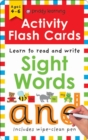 Activity Flash Cards Sight Words - Book