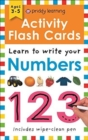 Activity Flash Cards Numbers - Book