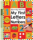My First Letters and Numbers - Book