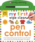 My First Wipe Clean Pen Control - Book