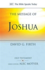 The Message of Joshua : Promise and People - Book