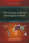 The Concept of Divine Sovereignty in Micah : A Vision for the Fulfillment of the Abrahamic Promises - eBook