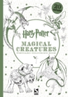Harry Potter Magical Creatures Postcard Colouring Book : 20 postcards to colour - Book