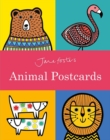 Jane Foster's Animal Postcard Book - Book