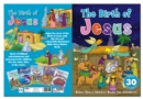 Bible Story Sticker Book for Children: The Birth of Jesus - Book