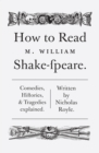 How To Read Shakespeare - eBook