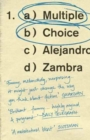 Multiple Choice - Book