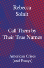 Call Them by Their True Names : American Crises (and Essays) - eBook