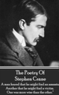 "The Poetry Of Stephen Crane : ""A man feared that he might find an assassin; Another that he might find a victim. One was more wise than the other."" - eBook"
