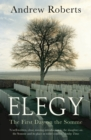 Elegy : The First Day on the Somme - Book