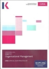 E1 ORGANISATIONAL MANAGEMENT - EXAM PRACTICE KIT - Book