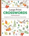 Large Print Crosswords - Book
