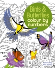 Birds & Butterflies Colour by Numbers - Book