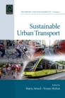 Sustainable Urban Transport - Book
