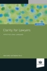 Clarity for Lawyers : Effective Legal Language - Book