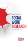 Innovations in Social Work Research : Using Methods Creatively - eBook