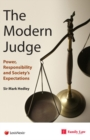 Modern Judge : Power, Responsibility and Society's Expectations - Book