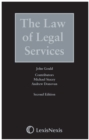 Law of Legal Services, The - Book