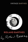 Roland Barthes by Roland Barthes - Book