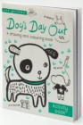 Dog's Day Out : A drawing and colouring book - Book