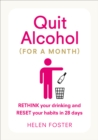 Quit Alcohol (for a Month) - Book