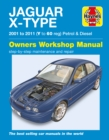 Jaguar X-Type Service And Repair Manual - Book