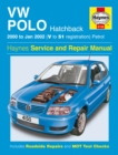 VW Polo Hatchback Petrol Service And Repair Manual : 00-02 - Book