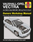 Vauxhall/Opel Vectra Petrol & Diesel Service And R : 02-05 - Book