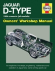 Jaguar D-Type Owners' Workshop Manual : 1954 onwards (all models) - Book