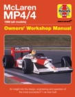 Mclaren Mp4/4 Owners' Workshop Manual : An insight into the design, engineering, maintenan - Book