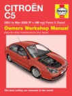 Citroen C5 Owners Workshop Manual - Book