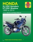 Honda Xl125V Varadero & VT125C Shadow (99-14) - Book