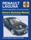 Renault Laguna Petrol & Diesel Owners Workshop Man : 2001-2007 - Book