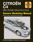 Citroen C4 Owners Workshop Manual : 04-10 - Book