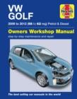 VW Golf Petrol & Diesel : (09 - 12) 58 to 62 - Book