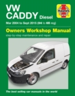 VW Caddy Diesel (Mar '04-Sept '15) 04 to 65 - Book