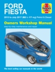 Ford Fiesta petrol & diesel '13 to '17 - Book