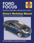 Ford Focus petrol & diesel (Oct '14-'18) 64 to 18 - Book