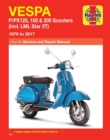 Vespa P/PX125, 150 & 200 Scooters (incl. LML Star 2T) (78-17) - Book