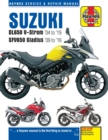 Suzuki DL650 V-Strom & SFV650 Gladius (04 - 19) : 2004 to 2019 - Book
